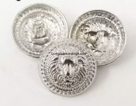Silver Lion buttons. Metal lion buttons. Free worldwide shipping (2) (3) (4) (5) (7) (8) (9)